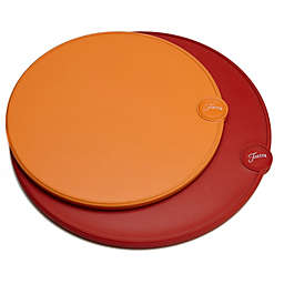 Cambridge® Fiesta 2-Piece Round Cutting Board Set