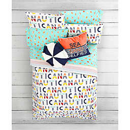 Nautica® Flag and Letters Kid's Bedding Collection  <br />