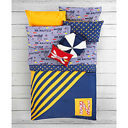 Nautica® Letters and Flag Kid's Flag Twin Comforter Set in Yellow