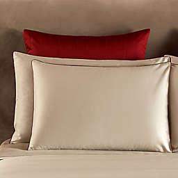 Frette At Home Post Modern European Pillow Sham in Khaki/Cinnamon