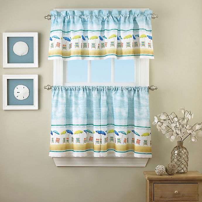 Buy St. Tropez 36-Inch Window Curtain Tier Pair From Bed