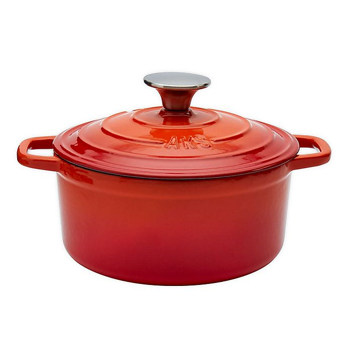 Alternate image 1 for Artisanal Kitchen Supply® 2 qt. Enameled Cast Iron Dutch Oven