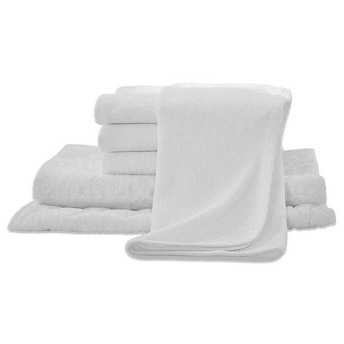 Alternate image 1 for TL Care® 6-Piece Mini-Crib Starter Kit in White