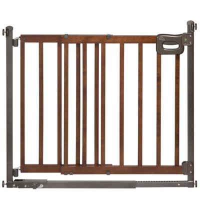 Homesafe Step To Secure Wood Walk Thru Gate Bed Bath
