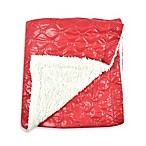 Tadpoles™ by Sleeping Partners Quilted Puffer Baby Blanket with Sherpa Backing in Red