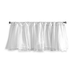 Tadpoles Layered Tulle Window Valance