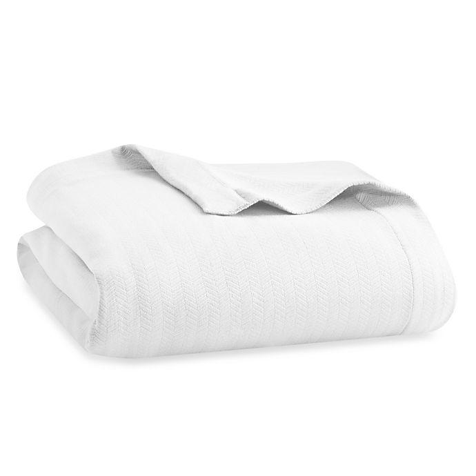 Alternate image 1 for Wamsutta® Dream Zone® MICRO COTTON® King Blanket in White