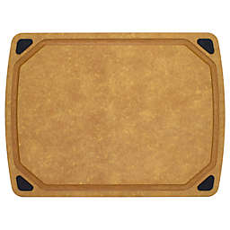 Artisanal Kitchen Supply® 17.75-Inch x 13-Inch Wood Fiber Cutting Board with Juice Well