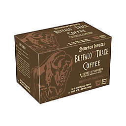 Buffalo Trace Bourbon Flavored Coffee for Single Serve Coffee Makers 10-Count