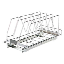 ORG™ Steel Sliding Cabinet Organizer in Chrome