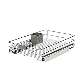 ORG™ Org Steel Sliding Under Cabinet Organizer in Chrome