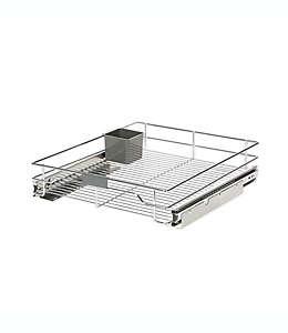 Organizador deslizante ORG™ Org Steel de 50.8 x 43.18 cm en cromo