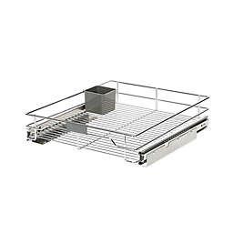 ORG™ Org Steel Sliding 20-Inch x 17-Inch Under Cabinet Organizer in Chrome