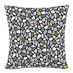 Skyline Furniture Bold Terrazzo Square Throw Pillow in Lavender