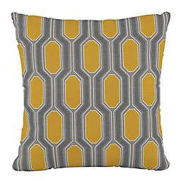 Skyline Furniture Hexagon Square Throw Pillow