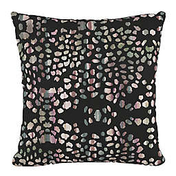 Skyline Furniture Mosaic Ink Square Throw Pillow