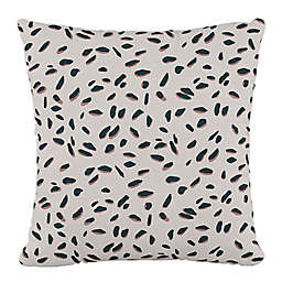 Skyline Furniture Neo Leo Square Throw Pillow in Cream