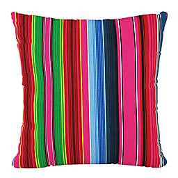 Skyline Furniture Serape Stripe Square Throw Pillow