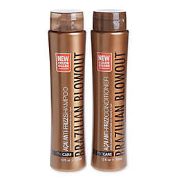 Brazilian Blowout 12 oz. Anti Frizz Acai Shampoo and Conditioner (Set of 2)