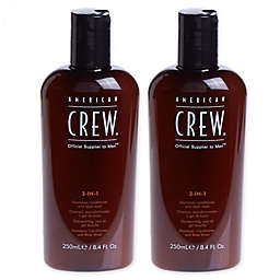American Crew® 8.4 oz. 3-in1 Shampoo, Conditioner and Body Wash (Set of 2)