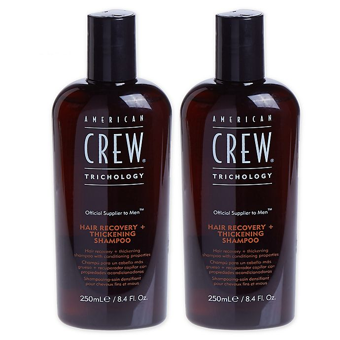 Alternate image 1 for American Crew® 8.4 oz. Hair Recovery + Thickening Shampoo (Set of 2)