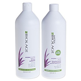 Biolage Hydrasource 33.8 fl. oz. Shampoo and Detangling Solution (Set of 2)