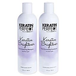 Keratin Perfect® Keratin Brightener 12 oz. Shampoo and 12 oz. Conditioner (Set of 2)