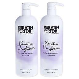 Keratin Perfect® Keratin Brightener 32 oz. Shampoo and 32 oz. Conditioner (Set of 2)