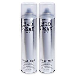 TIGI® Bed Head® 10 oz. Hard Head™ Hard Hold Hairspray (Set of 2)