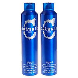 TIGI® Catwalk 9.2 oz. Work-It Medium-Firm Hold Hairspray (Set of 2)