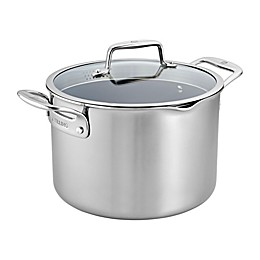 Zwilling® J.A. Henckels Clad CFX Ceramic Nonstick 8 qt. Stainless Steel Covered Stock Pot