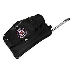 MLB Washington Nationals 27-Inch Drop Bottom Wheeled Duffel Bag