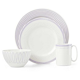 kate spade new york Charlotte Street™ East Dinnerware Collection in Lilac