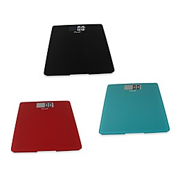 Escali® Glass Platform Bathroom Scales