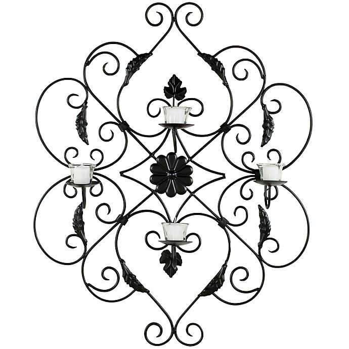 Alternate image 1 for Safavieh 25.6-Inch x 33.5-Inch Pillar Wall Decor in Black