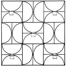 Safavieh Roxy Votive 28.3-Inch Square Wall Decor in Black