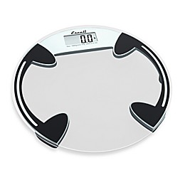 Escali® Clear Glass Round Platform Bathroom Scale