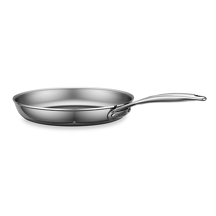 Alternate image 1 for Zwilling J.A. Henckels Energy 12-Inch Polished Stainless Steel Open Fry Pan