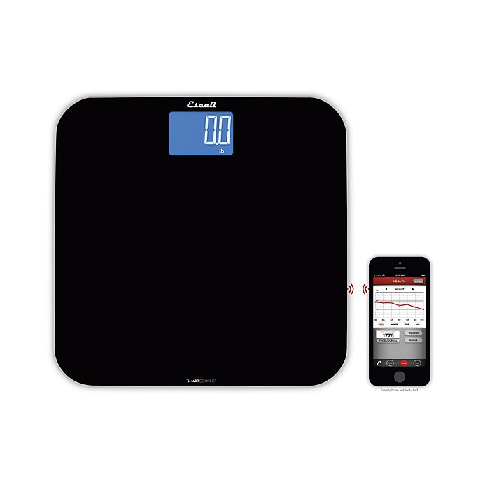 Alternate image 1 for Escali® SmartConnect™ Body Bathroom Scale with Bluetooth