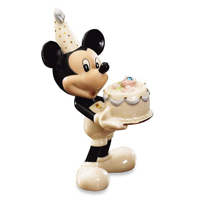 Alternate image 1 for Lenox® Disney December Birthstone Mickey Figurine