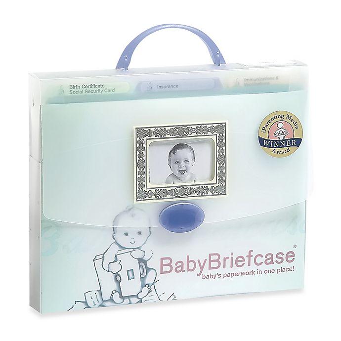 Alternate image 1 for BabyBriefcase® Baby Paperwork Organizer