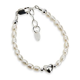 Cherished Moments Destiny Small Sterling Silver with Freshwater Cultured White Pearls Bracelet