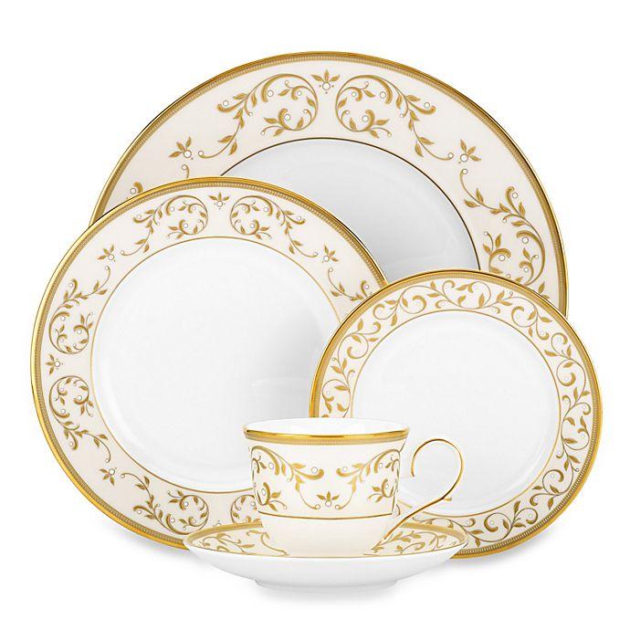 Alternate image 1 for Lenox® Opal Innocence Gold Dinnerware Collection