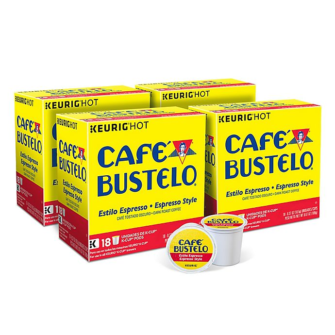 Alternate image 1 for Keurig® K-Cup® Café Bustelo® Coffee Collection