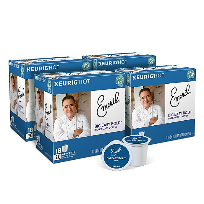 Alternate image 1 for Keurig® K-Cup® Emeril® Big Easy Bold™ Coffee Collection