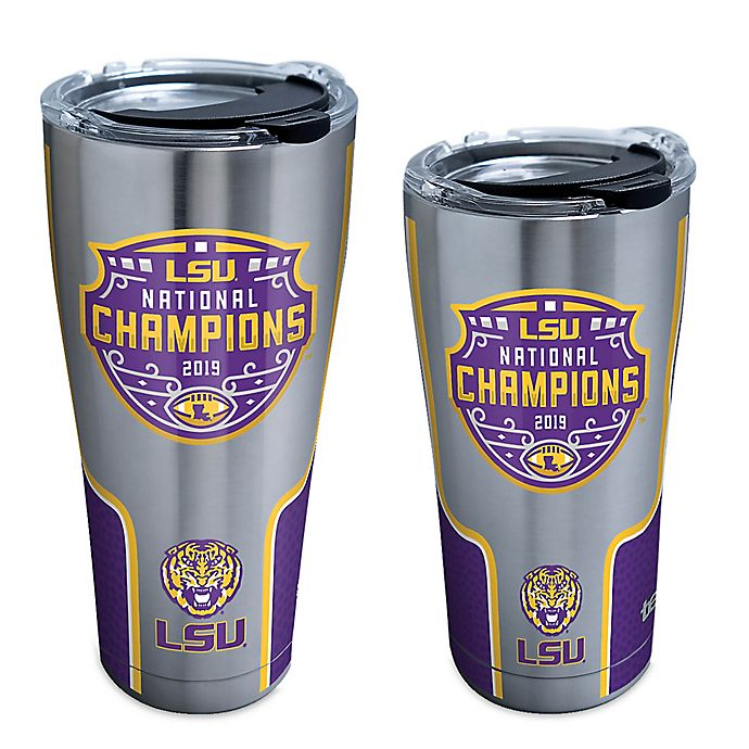 Alternate image 1 for Tervis® Louisiana State University 2019 National Champs Stainless Steel Tumbler with Lid