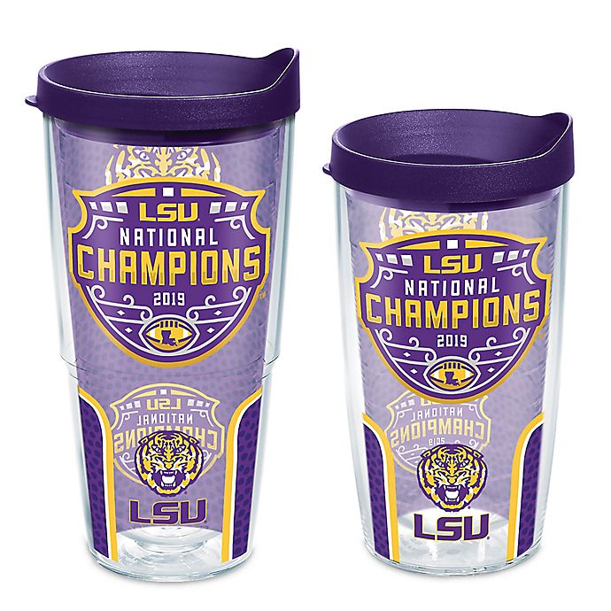 Alternate image 1 for Tervis® Louisiana State University 2019 National Champs Wrap Tumbler with Lid