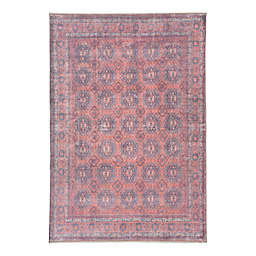 """Jaipur Living Shelta 7'10""""x9'x10"""" Area Rug in Blue/Red"""
