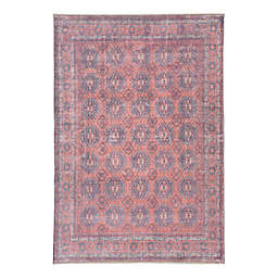 """Jaipur Living Shelta 8'10""""x11'x9"""" Area Rug in Blue/Red"""
