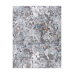 Tayse Rugs Marco Abstract Rug in Grey